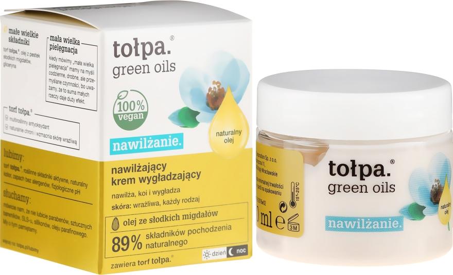 Cremă hidratantă de față - Tolpa Green Oils Moisturizing Cream