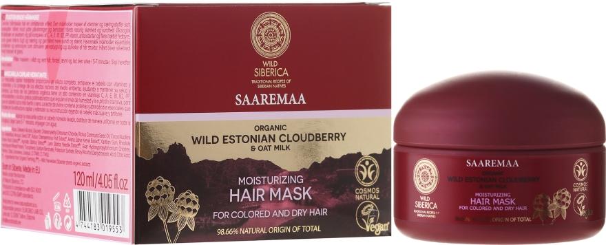 Mască hidratantă pentru păr - Natura Siberica Wild Siberica Saarema Moisturizing Mask — Imagine N1