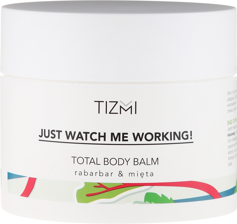 Balsam de corp - Tizmi Total Body Balm Rhubarb & Mint — Imagine N1