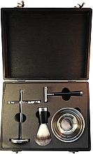 Parfumuri și produse cosmetice Set pentru bărbierit - Man's Beard Black Box With Razor