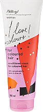 Parfumuri și produse cosmetice Balsam pentru păr vopsit - Kili·g Woman Conditioner For Coloured Hair