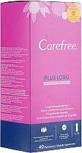 Parfumuri și produse cosmetice Absorbante pentru fiecare zi, 40 bucăți - Carefree Plus Long Fresh Scent