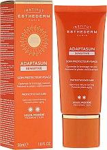 Parfumuri și produse cosmetice Cremă de față pentru pielea sensibilă - Institut Esthederm Adaptasun Sensitive Protective Face Care