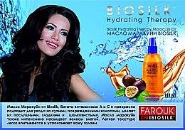 Ulei cu extract de maracuja pentru hidratarea părului - BioSilk Hydrating Therapy Maracuja Oil (mini) — Imagine N3