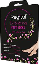 Parfumuri și produse cosmetice Șosete exfoliante pentru picioare - Regital Exfoliating Foot Socks