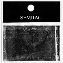 Parfumuri și produse cosmetice Decor pentru manichiură - Semilac 06 Transfer Nagelfolie Semilac Black Lace