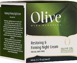 Parfumuri și produse cosmetice Cremă regenerantă și de întărire de noapte pentru față - Frulatte Olive Restoring Firming Night Cream