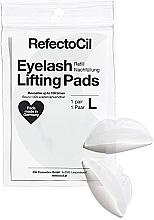 Parfumuri și produse cosmetice Pernuțe din silicon pentru liftingul genelor - RefectoCil Eyelash Lifting Pads L