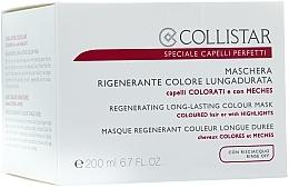 Mască pentru păr vopsit - Collistar Regenerating Long Lasting Colour Mask — Imagine N3