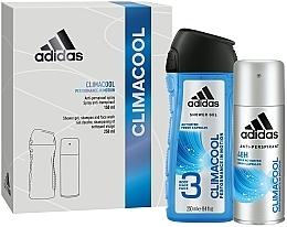 Parfumuri și produse cosmetice Set - Adidas Climacool Men (deo/150ml +sh/gel/250ml)