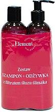Parfumuri și produse cosmetice Set - _Element Snail Slime Filtrate (shampoo/150ml+cond/150ml)