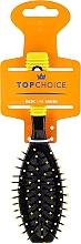 Parfumuri și produse cosmetice Perie de păr, 2151, negru + galben - Top Choice