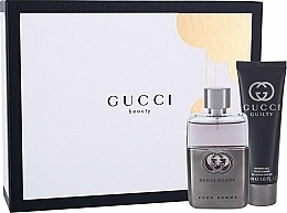 Parfumuri și produse cosmetice Gucci Guilty Pour Homme - Set (edt/50ml + sh/gel/50ml)