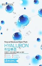 Parfumuri și produse cosmetice Mască de țesut cu acid hialuronic - Eunyul Natural Moisture Hyaluron Mask Pack