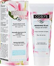 Parfumuri și produse cosmetice Mască cu extract de crin pentru față - Coslys Facial Care Radiant Mask With Lily Extract