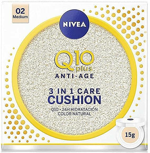 Tonal cushion - Nivea Q10 Plus Anti-Aging Radiance BB Cushion — Imagine N1