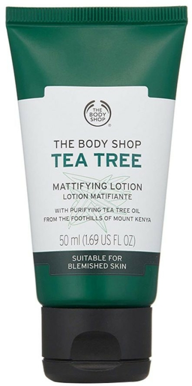 Loțiune matifiantă de față - The Body Shop Tea Tree Mattifying Lotion
