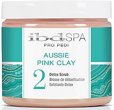 Parfumuri și produse cosmetice Scrub pentru picioare și mâini - IBD Aussie Pink Clay Detox Scrub