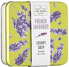 """Parfumuri și produse cosmetice Săpun """"French Lavender"""", în cutie de metal - Scottish Fine French Lavender Soap In A Tin"""
