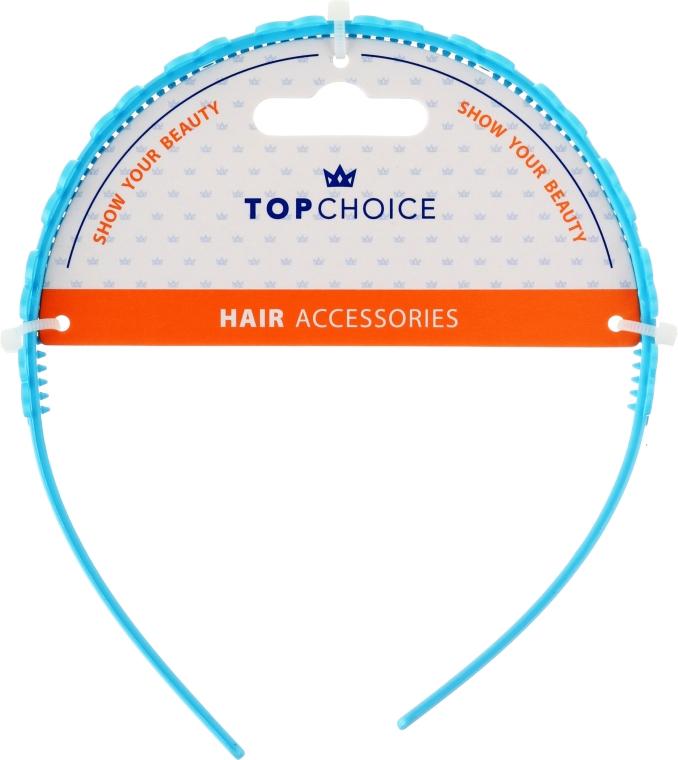 Cordeluță de păr, 27918, albastră - Top Chice — Imagine N1