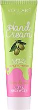 Parfumuri și produse cosmetice Cremă nutritivă pentru mâini - Vollare Cosmetics De Luxe Hand Cream Ultra Nutrition