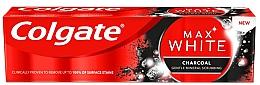 Pastă cu cărbune pentru albirea dinților - Colgate Max White Charcoal — Imagine N1