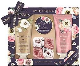 Parfumuri și produse cosmetice Set - Baylis & Harding Royale Garden (sh/cr/200ml + b/lot/200ml + b/butter/50ml + soap/6g)