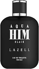 Parfumuri și produse cosmetice Aqua Him Black - Apă de toaletă