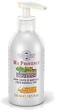 """Parfumuri și produse cosmetice Săpun lichid """"Portocală"""" - Ma Provence Liquid Marseille Soap Orange"""