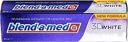 """Parfumuri și produse cosmetice Pastă de dinți """"Albire tridimensională"""" - Blend-A-Med 3D White Toothpaste"""