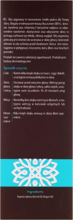 Ulei de argan pentru față - GlySkinCare 100% Argan Oil — Imagine N3