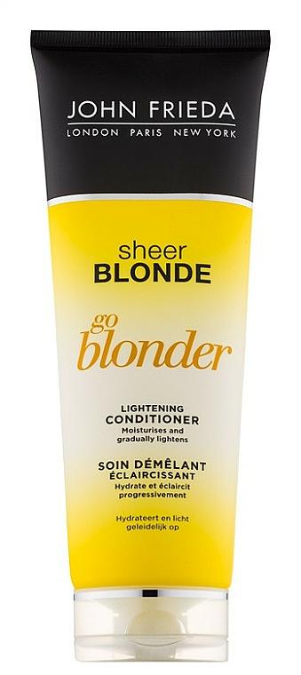 Balsam iluminator - John Frieda Sheer Blonde Soin Demelant Eclaircissante Go Blonder — Imagine N1