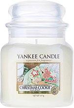 Parfumuri și produse cosmetice Lumânare parfumată, în borcan - Yankee Candle Christmas Cookie