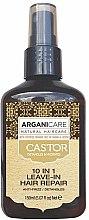 Parfumuri și produse cosmetice Ser pentru păr 10in1 - Argaincare Castor Oil 10-in-1 Hair Repair