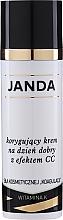 Parfumuri și produse cosmetice Crema de zi pentru corectarea pielii vasculare - Janda Correcting CC Cream