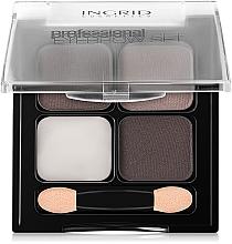 Parfumuri și produse cosmetice Set pentru modelarea sprâncenelor - Ingrid Cosmetics Professional Eyebrow Set