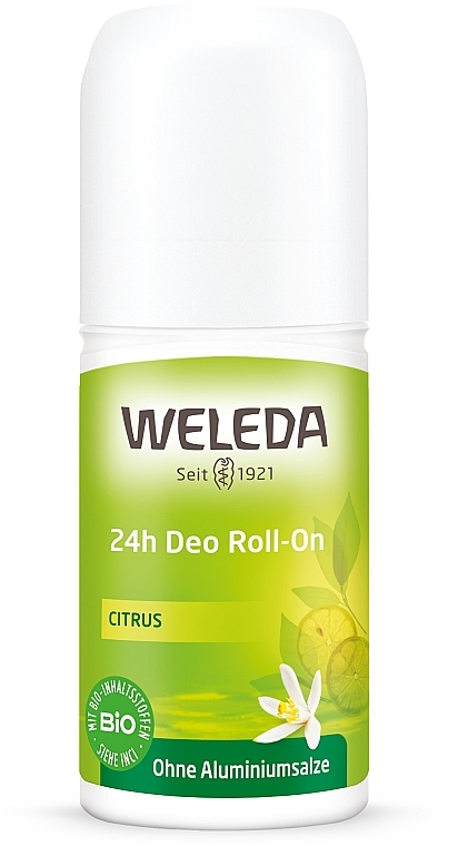 "Deodorant roll-on ""Citrice"" - Weleda Citrus 24h Deo Roll-On"
