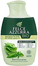 Parfumuri și produse cosmetice Săpun lichid pentru igiena intimă - Felce Azzurra BIO Aloe Vera&Green Tea