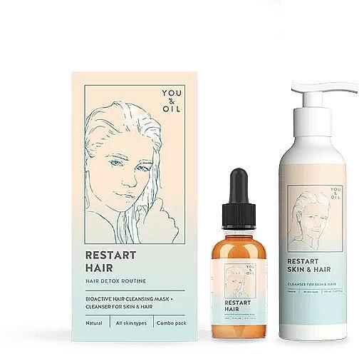 Set - You & Oil (mask/30ml + cleanser/150ml) — Imagine N1