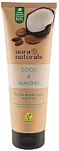 "Parfumuri și produse cosmetice Gel de duș ""Cocos și Migdale"" - Aura Naturals Coco & Almond Body Wash"