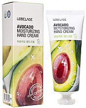 Parfumuri și produse cosmetice Cremă cu extract de avocado pentru mâini - Lebelage Avocado Moisturizing Hand Cream