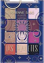Parfumuri și produse cosmetice Paletă farduri de ochi - Vivienne Sabo Les Planetes Eyeshadow Palette