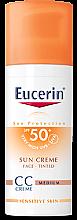 Parfumuri și produse cosmetice CC-Cream - Eucerin CC-creme Sunscreen for face SPF 50+