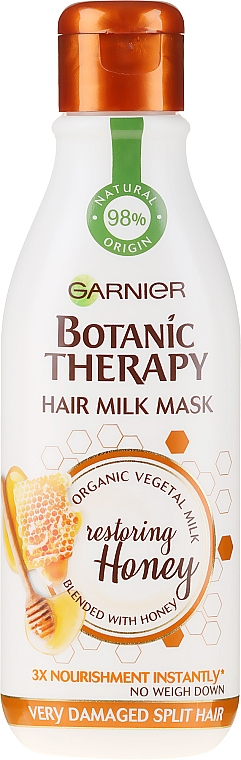 Mască pentru păr deteriorat - Garnier Botanic Therapy Hair Milk Mask — Imagine N1