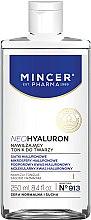 Parfumuri și produse cosmetice Tonic hidratant pentru față - Mincer Pharma Neo Hyaluron Tonic 913