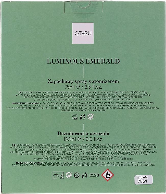 C-Thru Luminous Emerald - Set (edt/30 ml + deo/150ml) — Imagine N2