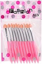 Parfumuri și produse cosmetice Set aplicatoare, roz - Fashion Cosmetic