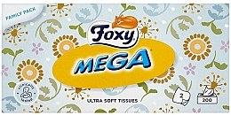 Parfumuri și produse cosmetice Șervețele ultra moi - Foxy Mega Ultra Soft Wipes