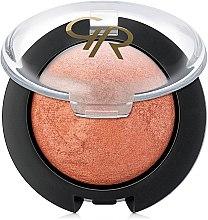 Parfumuri și produse cosmetice Fard copt de obraz - Golden Rose Terracotta Blush On