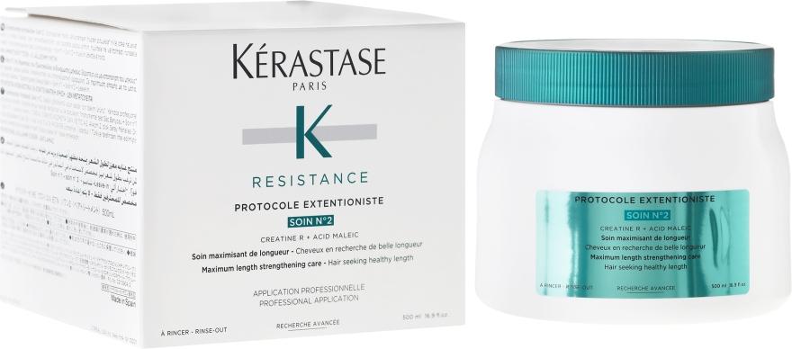 Tratament pentru regenerarea părului deteriorat - Kerastase Resistance Protocole Extentioniste Soin N?2